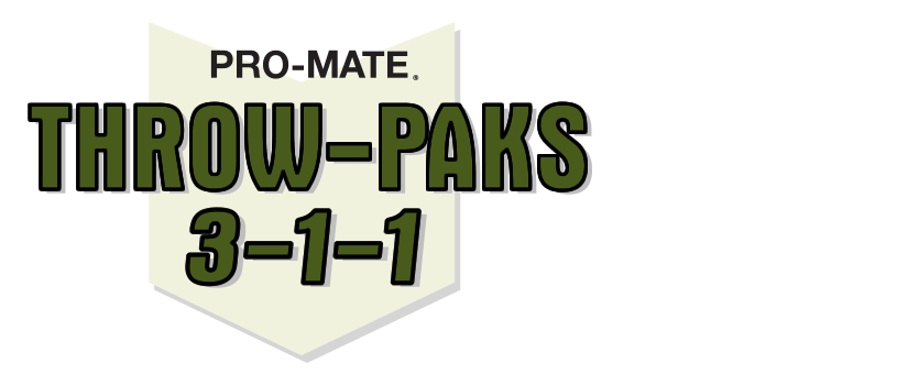 Pro-Mate Throw Paks 3-1-1